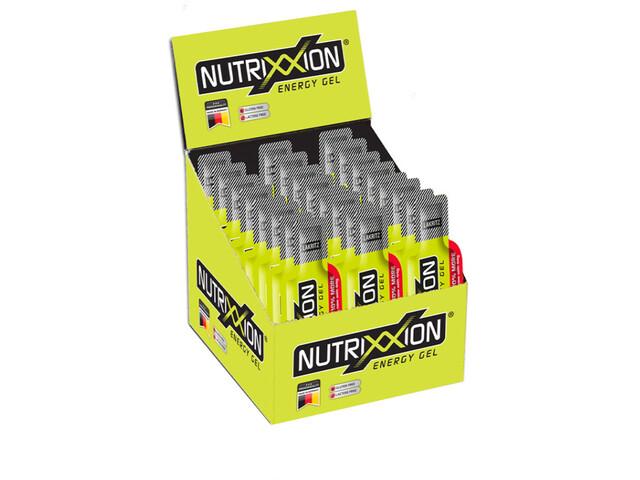 Nutrixxion Energy Gel Box mit Koffein 24 x 44g Lakritz